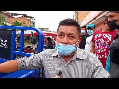 Tarapoto: conductor de furgoneta sufre ataque de epilepsia