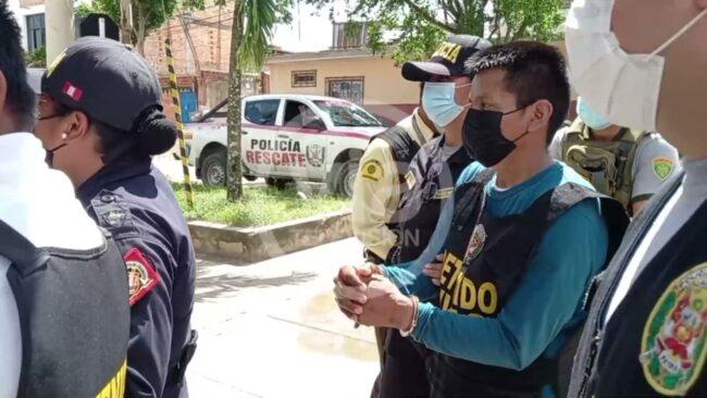 Tarapoto: continúa investigación contra presuntos integrantes de organización criminal