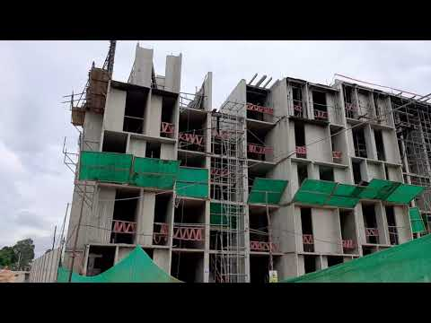 Trabajadores de construcción civil paralizan obra aparentemente por falta de pago