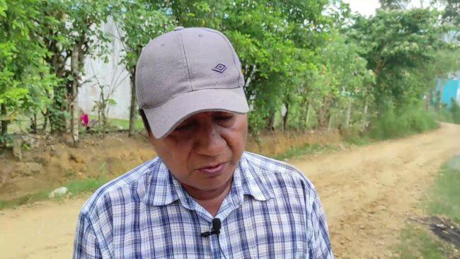 Vecinos de prolongación Federico Sánchez exigen mantenimiento de calle