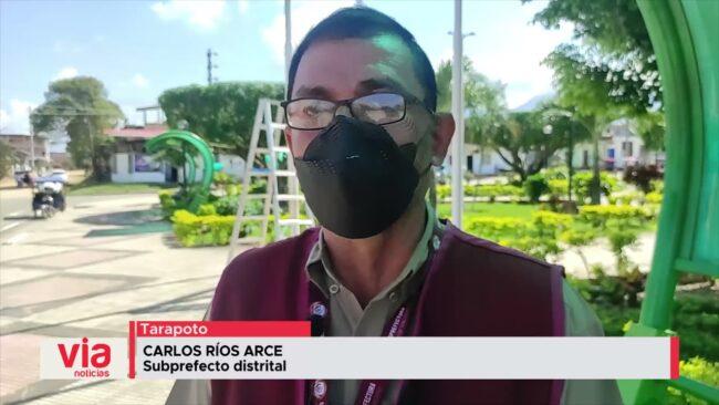 Autoridades coordinan desfile cívico militar que se realizará este lunes en la plaza de San Juan