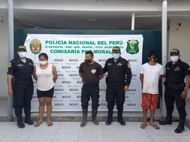 Desarticulan presunta banda criminal denominada los Mochileros de Aucaloma