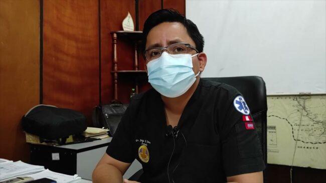 Director de la OGESS Bajo Mayo lamenta hallazgo de desechos hospitalarios