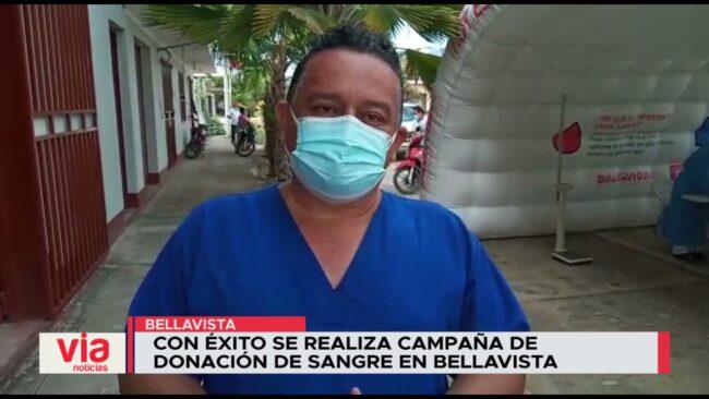 Con éxito se realiza campaña de donación de sangre en Bellavista