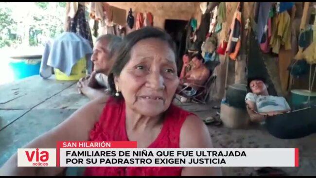 Familiares de niña que fue ultrajada  por su padrastro exigen justicia