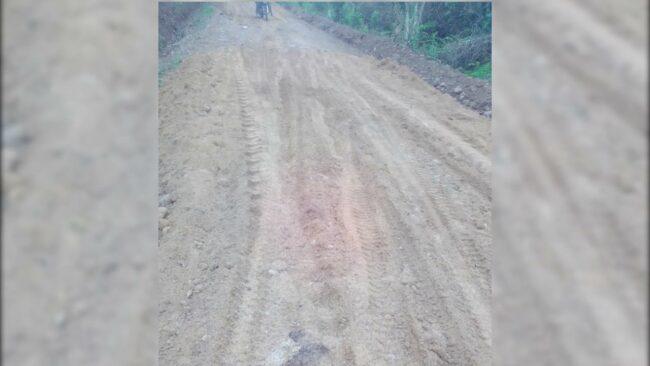 Obra de mejoramiento de carretera a Shuchusca quedó en pésimas condiciones