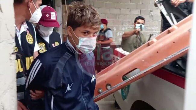 PNP recupera motocicletas hurtadas,  armas de fuego y detienen a presunto delincuente