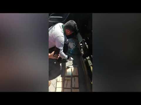 Polcar detiene a sujeto cuando transportaba aproximadamente 40 kg de PBC