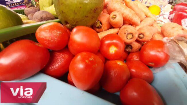 Preocupación por el incremento del precio de las verduras