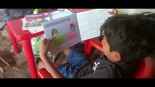 San Martín: material educativo para escolares aún no es entregado