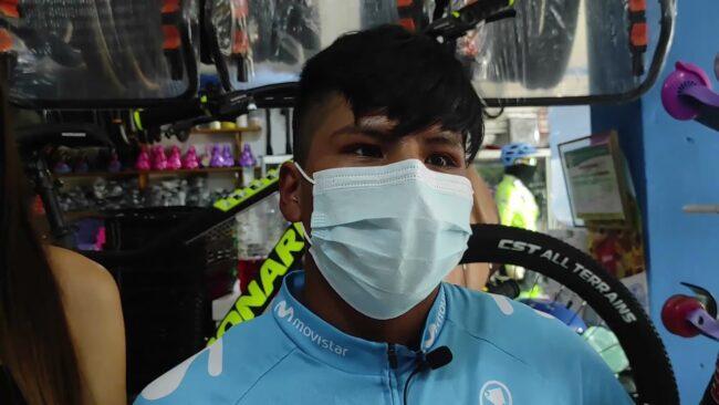 Tarapoto: competencia de ciclismo con presencia de campeón nacional