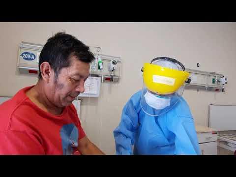 Tarapoto: realizan terapia física para superar secuelas del coronavirus