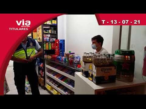 Titulares martes 13 de julio del 2021 – Tarapoto