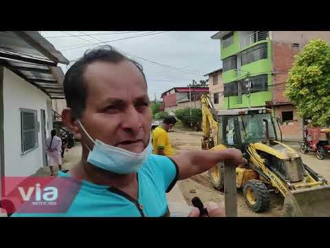 Vecinos del Amorarca solicitan construcción de rampas frente a sus viviendas