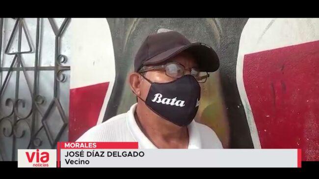 Vecinos solicitan resguardo policial en sector Las Palmeras de Morales