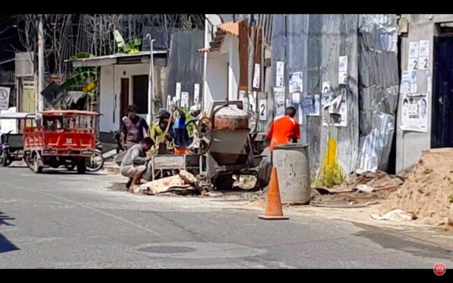 Tarapoto: auto embiste a trabajadores de  construcción y deja dos heridos