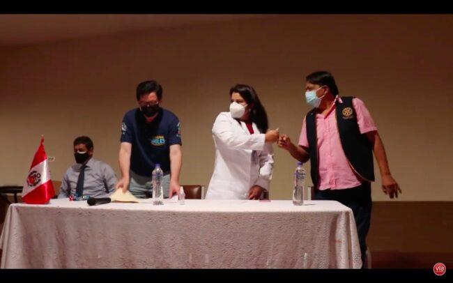 Sonrisas sin fronteras dona equipos biomédicos a hospital de Tarapoto