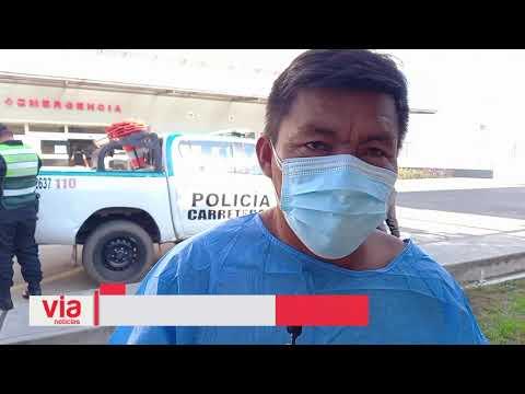 Un muerto y 4 heridos deja despiste y volcadura de camioneta