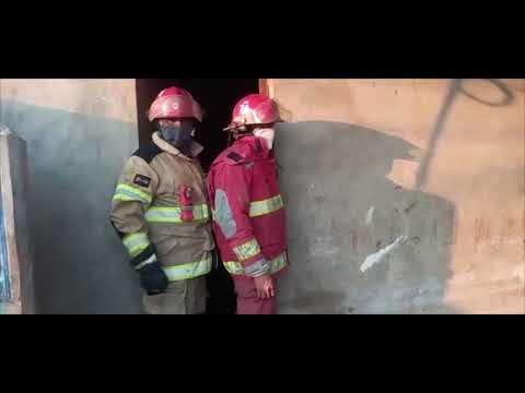 Tres niños se salvan de morir calcinados en un incendio ocurrido en Morales