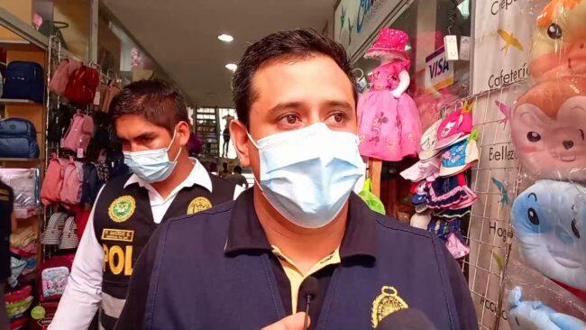 Tarapoto: incautan mercadería al parecer de contrabando por un valor de 34 mil soles
