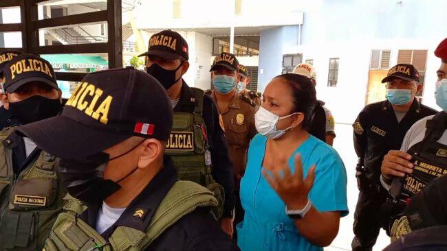 Tarapoto: responsable de centro vacunatorio confirma falta de vacunas Pfizer