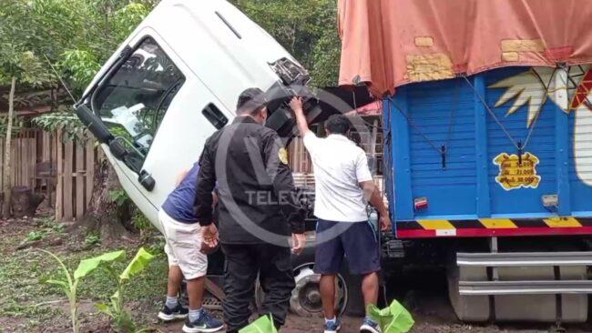 Ubicación de camión robado en asalto fue gracias a plan cerco de la PNP