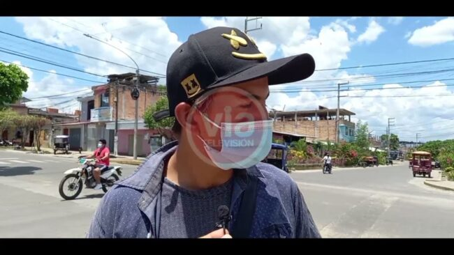 Tarapoto: joven es víctima de hurto de pertenencias durante accidente de tránsito