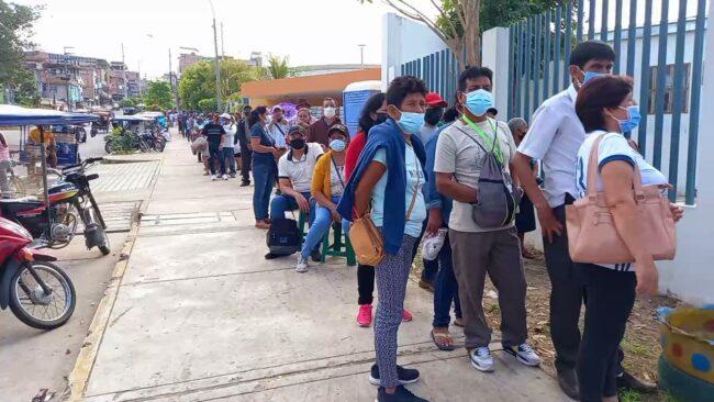 Tarapoto: a partir de este jueves empezarán a vacunar de 35 a 39 años de edad