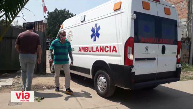 Ambulancia del hospital adquirida mediante el PEHCBM aún no está en funcionamiento