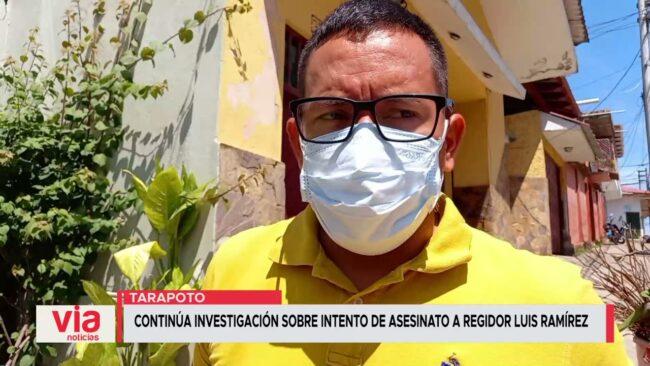Continúa investigación sobre intento de asesinato a regidor Luis Ramírez