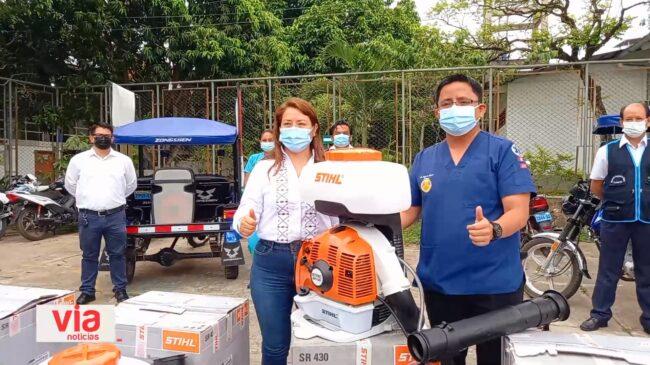 Sector salud se implementa para luchar contra el dengue
