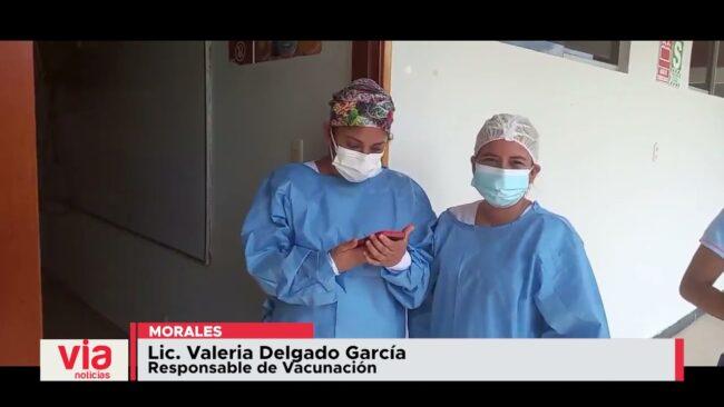 Estudiantes de la UPeU Tarapoto  fueron vacunados contra el Covid 19