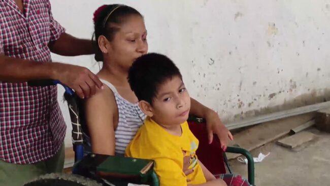 Familia natural de Contamana llega a Tarapoto en busca de apoyo médico
