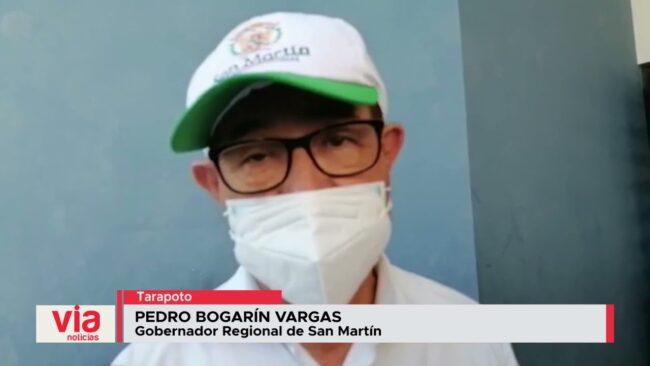 Gobernador regional tras llegada de Pedro Castillo se pronuncia sobre algunas obras