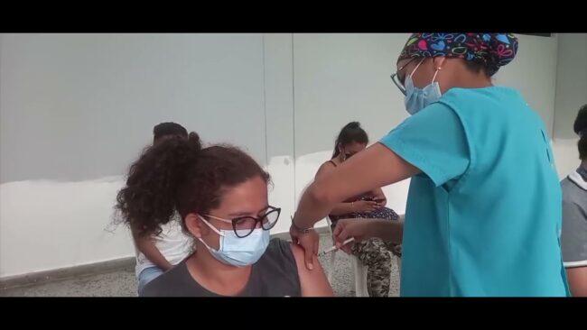Realizan campaña de Vacunación en Campus de la Universidad César Vallejo