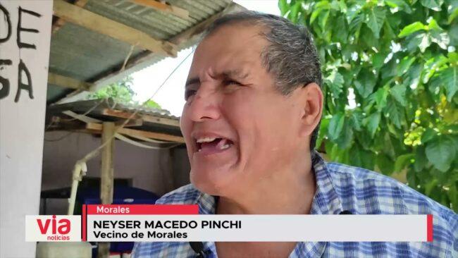 Vecinos de Morales exigen mantenimiento del cementerio de ese distrito